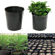 100pcs Plant Nursery Plant Pots Garden Growing Pot Home Garden Planter Nursery Pots Flower Seedlings Sowing
