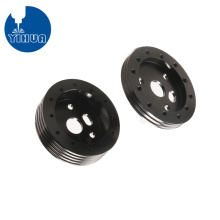 Black Anodizing Aluminum Pulley