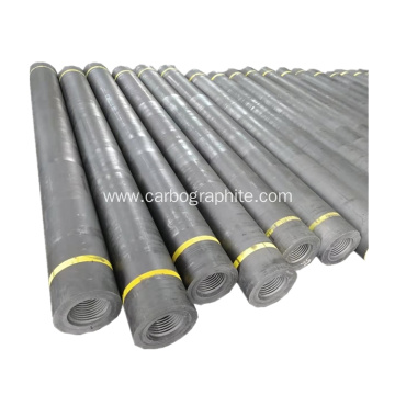 rp 150mm hp carbon graphite electrodes with nipples
