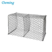 6cm*8cm Gabion Basket Are Made Of Hexagonal Galvanized