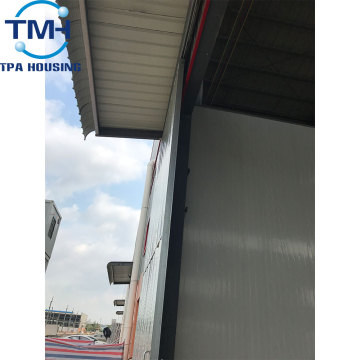 wholesale insulated steel building warehouse with flat roof