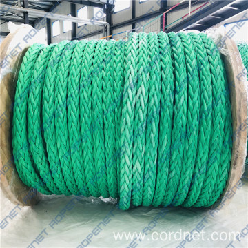 Powerful Marine Towing 12-Strand UHMWPE Mooring Rope