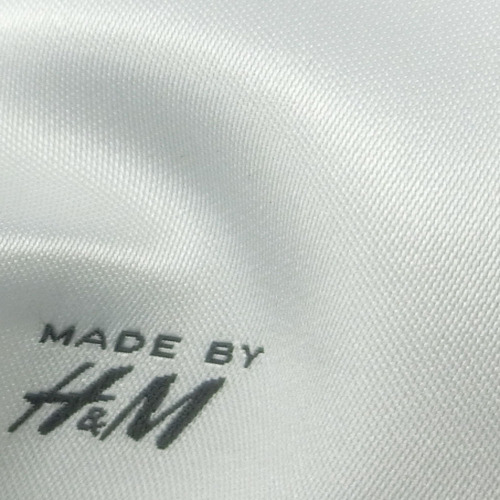 Most Soft top quality woven label embroidery patch