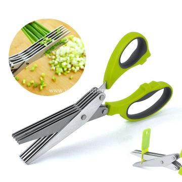 Multi-function kitchen onion scissors