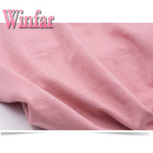 Plain Dye Manufactures Single Jersey Knit Rayon Fabric