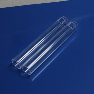 HM Transparent Customized UV Optical Quartz Tube