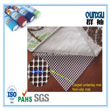 Washable anti slip rug underlay in carpet