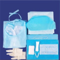 Sterile surgical kit for single use