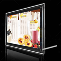 Ultra Thin Crystal Edge Light Box Display
