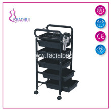 Spa Rolling Storage Tray Cart