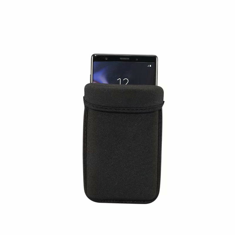 black Universal mobile phone pouch case,Smartphone Neoprene soft cover shockproof for Google for Huawei for ZTE bag