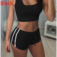 Women's Sexy Stretchy Bodycon Low Cut Sports Tracksuits