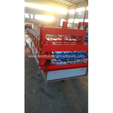 Q tile roll forming machine for African market