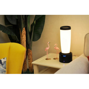 Smart multi-functional bedside lamp with Bluetooth speaker