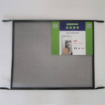 Steel material screen door grille for cat