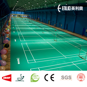 badminton court PVC sports flooring