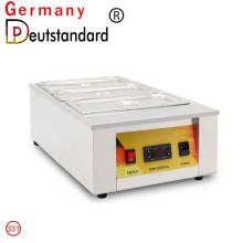 commercial chocolate melting machine with factory price