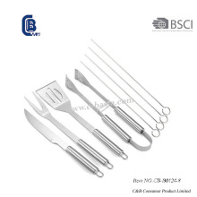 9PCS Grill Barbecue Set with Carry Bag