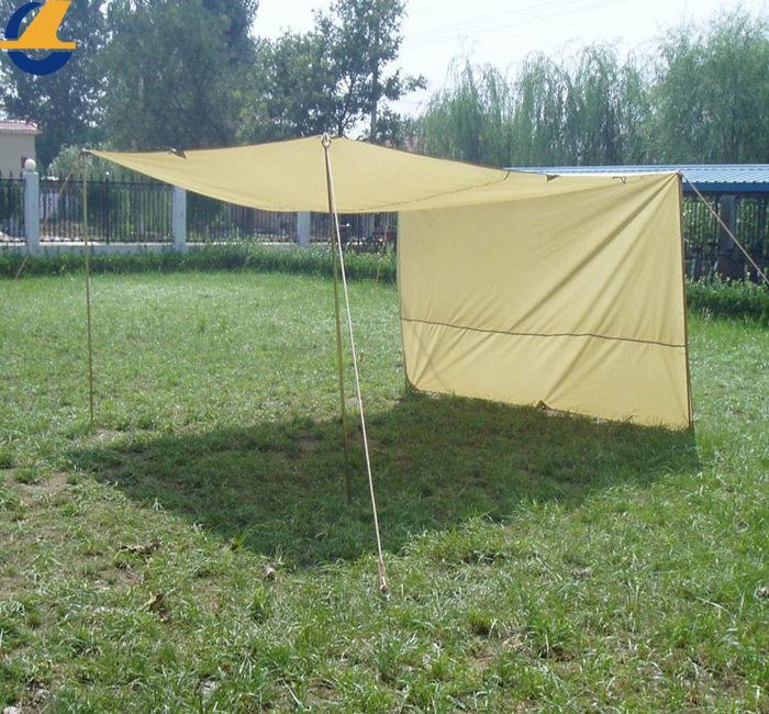 Canvas Tarps Camping with Grommets