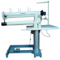 Long Arm Double Needle Cylinder Bed Unison Feed Extra Heavy Duty Machine