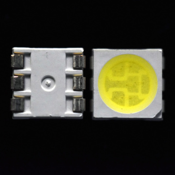 5050 White LED with 24LM 0.2W Output 6000K
