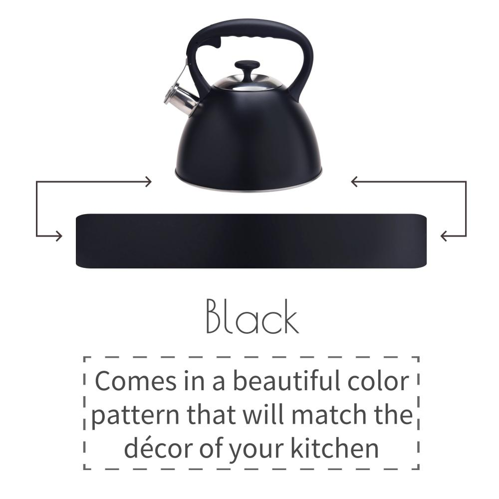 Black Stovetop Tea Kettle