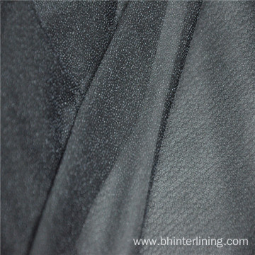PES coating cheap knitted stretch interlining fabric