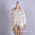 Summer crochet sexy beach wear cover up clothes