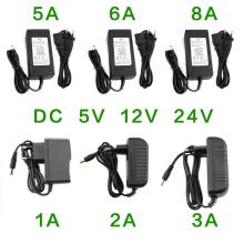 AC Power Supply Adapter DC 5V 12V 24V 1A 2A 3A 5A 6A 8A Universal Charger DC 5v 12v 24V Hoverboard Charger AC 220V to 12 24 V