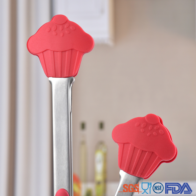 new shape Silicone food tong