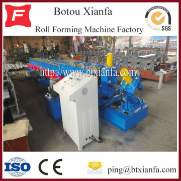Galvanized C Z U Shape Purlin Roll Forming Machine