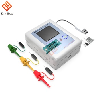 Transistor Tester Test TFT TC-1 Diode Triode Capacitance Meter LCR Meter NPN PNP MOSFET IR Multifunction Tester Multimeter