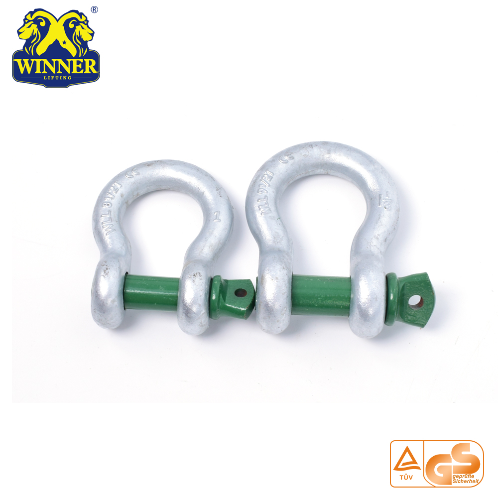 US Type Galvanized Steel Shackles