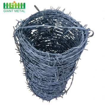 Reserve Zone Protection Iron Galvanized Barbed Wire
