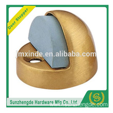 SDH-004BR 2017 New model floor mounted brass door stopper wiht rubber
