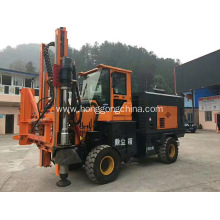Guardrail Combined Drilling Pile Driver