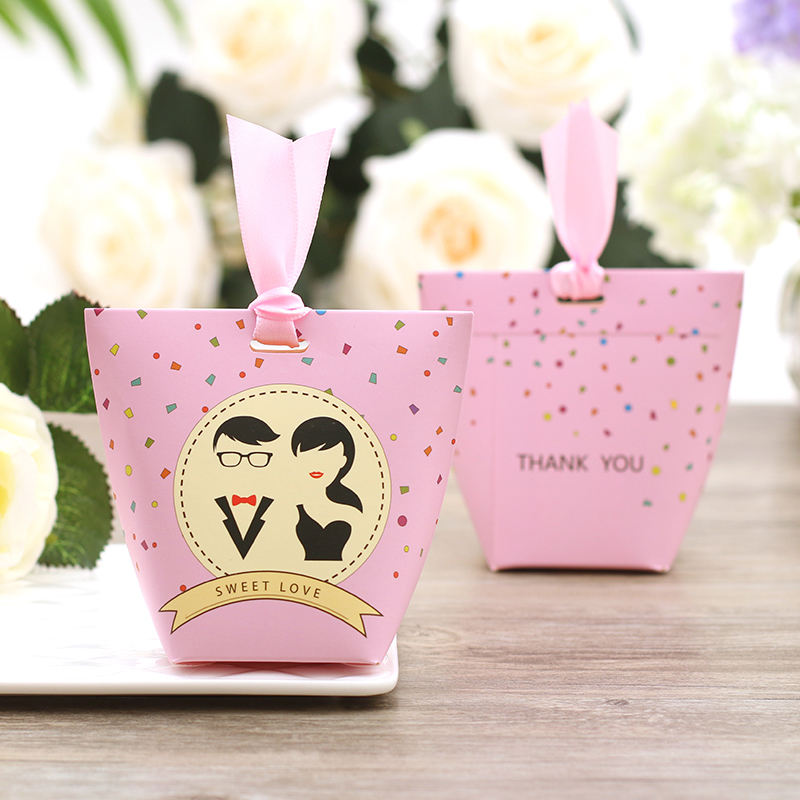 Candy packaging box wedding