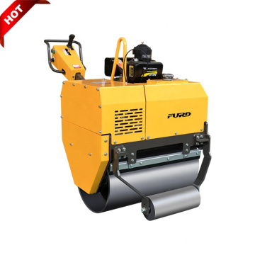 Fully Hydraulic CVT Speed Vibrator Single Drum Hand Held Compactor