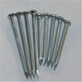 Low price yellow hardened steel concrete nails