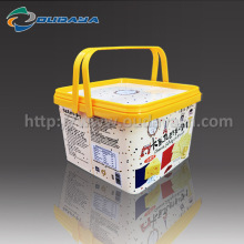 600g IML Cookie Container IML PP with Handle