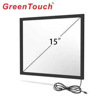15 Inch Multi Point Infrared Touchscreen