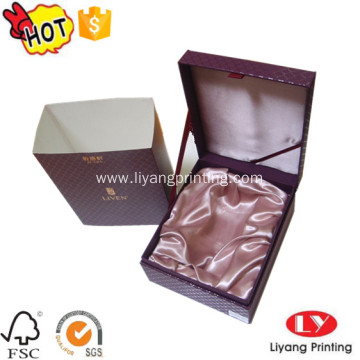 Luxury cardboard jewelry packaging gift logo box