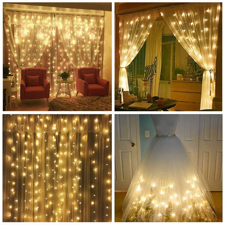 waterproof led curtain light