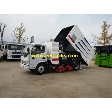 5 Ton DFAC Broom Sweeper Trucks