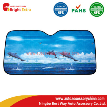 Dolphin Car Front Reflective Sunshade