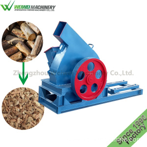 Diesel wood shredder chipper wood chipper with engine
