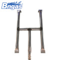 Stainless steel gas tube burner bbq gas burner