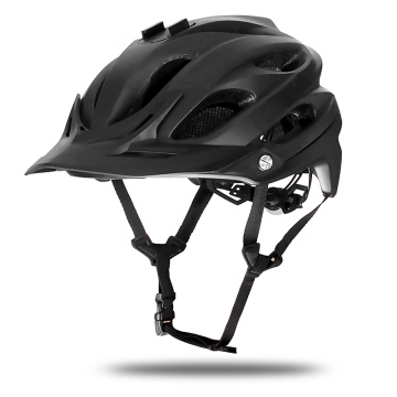 Matte Black Large Enduro MTB Helmet Mens