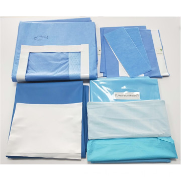 Medical Disposable Surgical Drape U Split Hip Drape