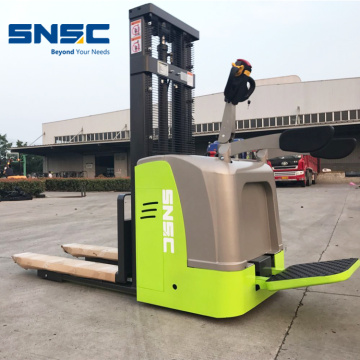 Stand On Counter Balance electric Stacker 2 Ton